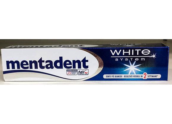Dentifricio White System Mentadent