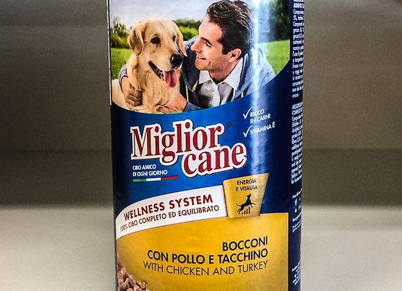 Bocconcini Pollo Tacchino Miglior Cane 1,25kg