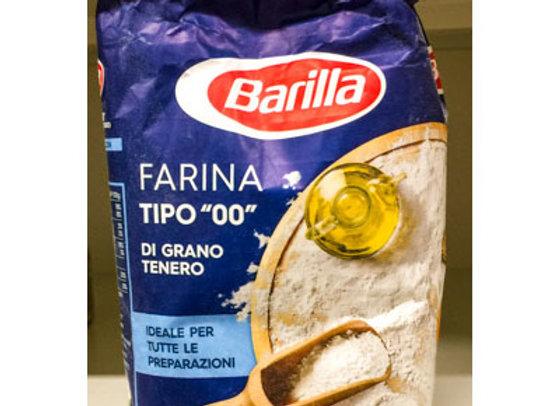 """Farina Tipo """"00"""" Barilla 1kg"""