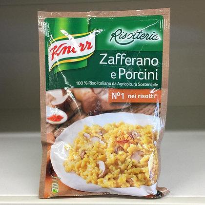 Risotto Zafferano e Porcini KNORR 175 gr.