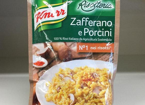 Risotto Zafferano Porcini Knorr 175gr
