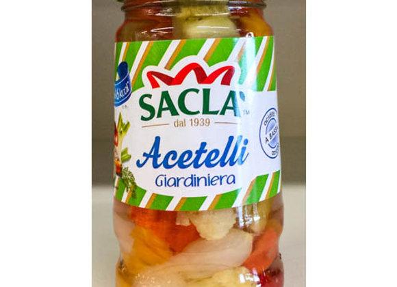 Giardiniera Acetelli SACLA' 290 gr.