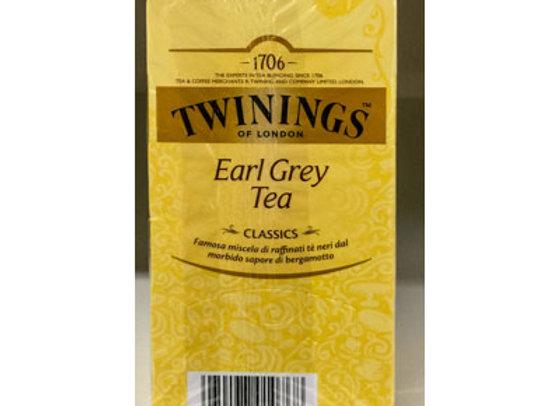 Tè Earl Grey Twinings (25 buste)