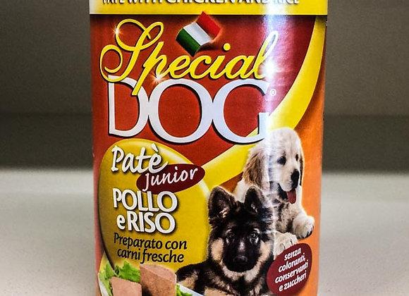 Paté Pollo Riso Special Dog 400gr