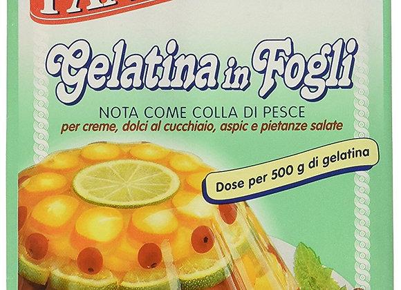 Gelatina in fogli (colla di pesce)