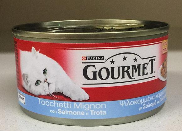 Gourmet 195 gr. salmone e trota