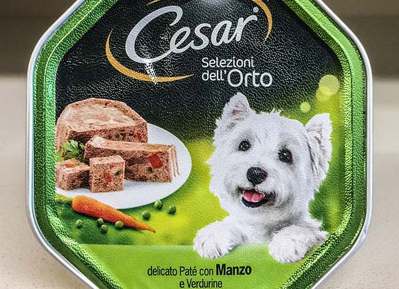 Paté Manzo Verdure Cesar 150gr
