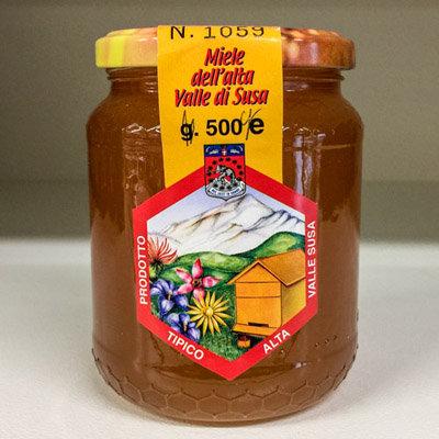 Miele dell'Alta Val Susa 500 gr.
