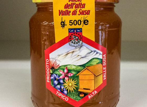 Miele Millefiori Alta Val Susa 500gr