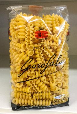 Pasta riccioli GAROFALO 500 gr.