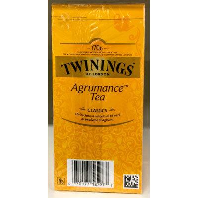 Agrumance Tea TWININGS 25 bs.