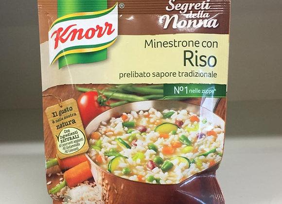 Minestrone Riso Knorr 105gr