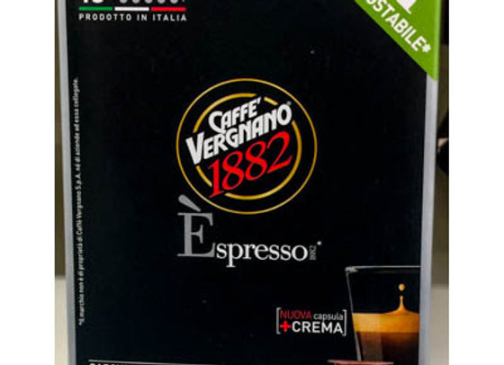 10 Capsule espresso  INTENSO VERGNANO