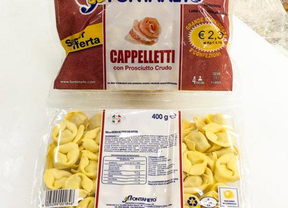 Cappelletti Crudo Fontaneto 400gr