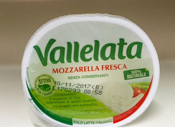 Mozzarella Fior di Latte Vallelata 265gr