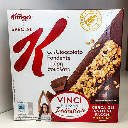 KELLOGGS barrette cioccolato