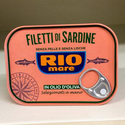 FILETTI di SARDINE RIO MARE 105 gr:
