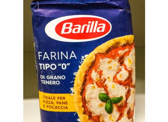 """Farina Manitoba Barilla Tipo """"0"""" 1kg"""