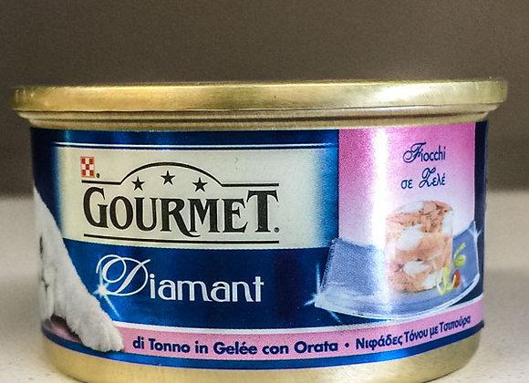 Gourmet Diamant 85 gr. tonno e orata