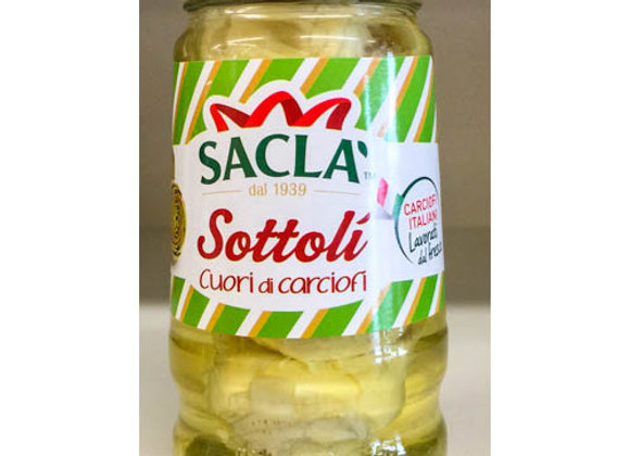 Cuori di carciofi SOTTOLI SACLA' 285 gr.