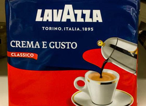 Caffe' CREMA e GUSTO LAVAZZA 2X250 gr.