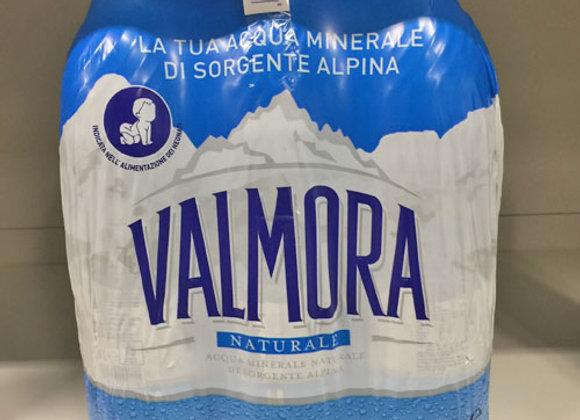6 Acqua Valmora Naturale