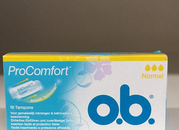 Assorbenti interni OB normal 16x
