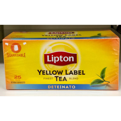 The' Deteinato LIPTON 25 buste