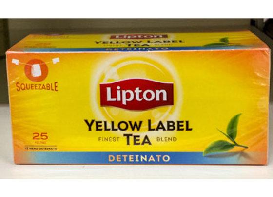 Tè Deteinato LIPTON (25 buste)