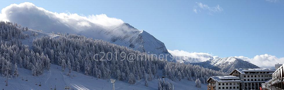 Panorama su Grand Roche