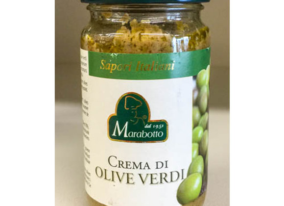 Crema Paté Olive Verdi Marabotto 180gr