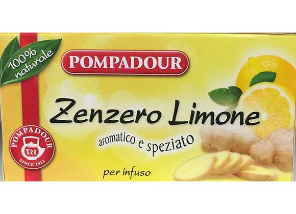 Infuso Zenzero Limone Pompadour
