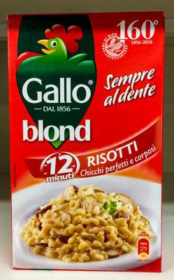 Riso BLOND Gallo 1kg.