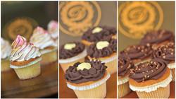 Cupcakes w flowers