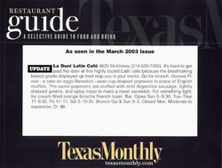 19 TM March 2003 Fx