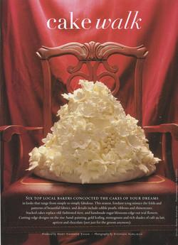 41 D Weddings cake walk  03