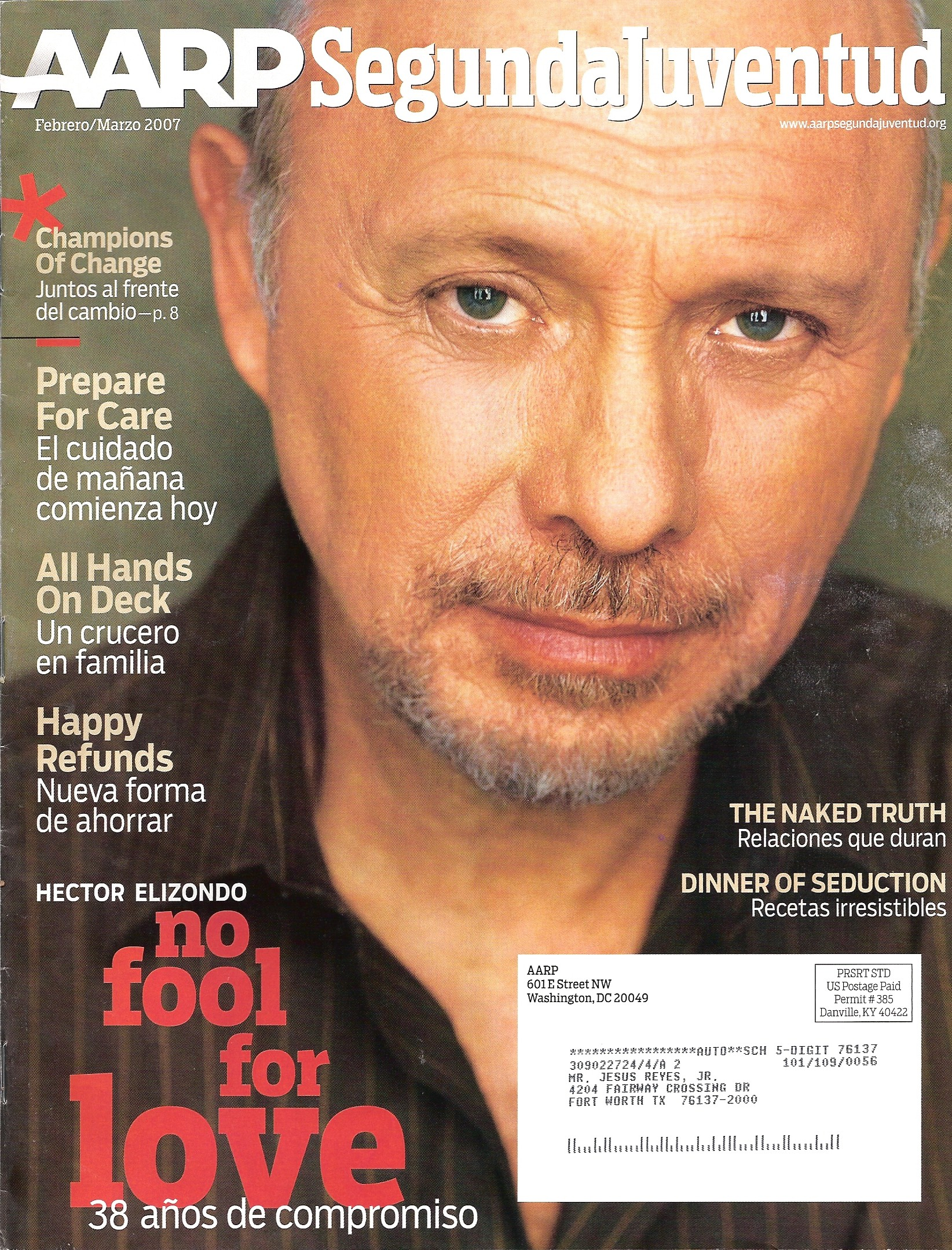 117 AARP Feb 07 Cover