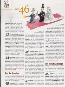 20 D Great Dates Article