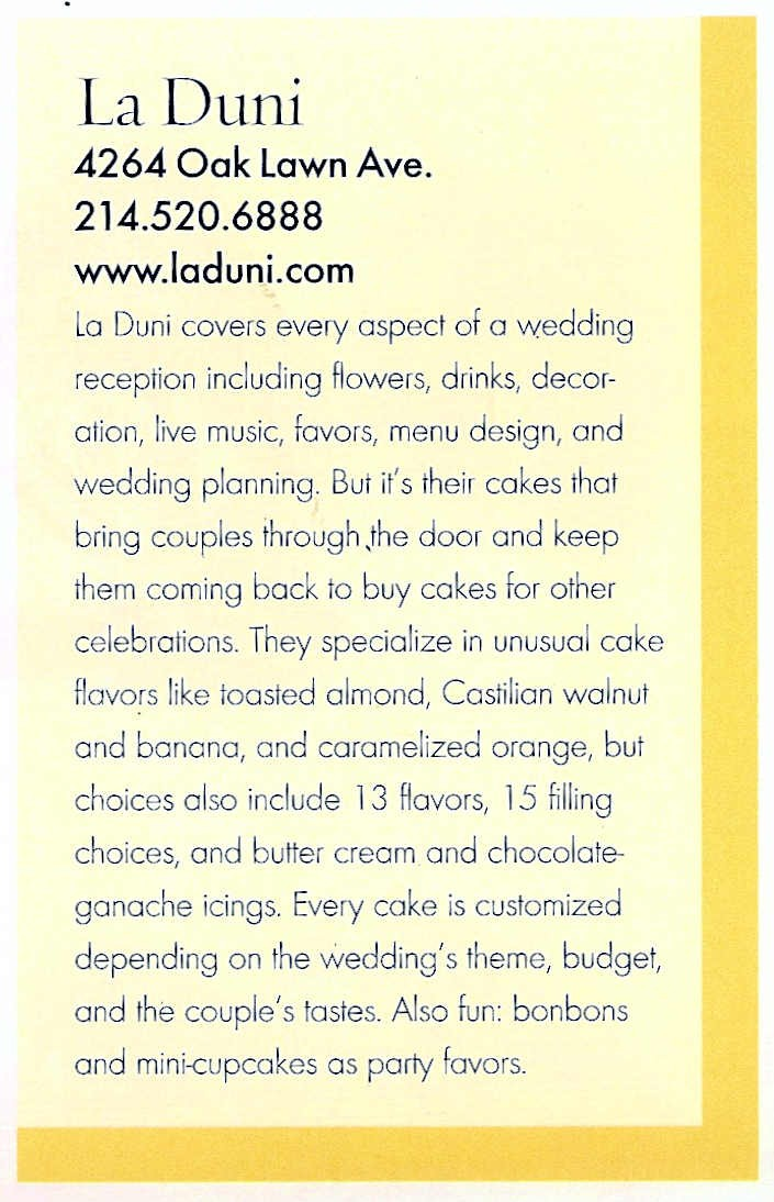 99 D Mag Weddings Copy  Aug 05