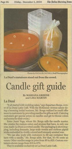 52 DMN Candles