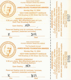 49 James Beard Party 04 Tickets