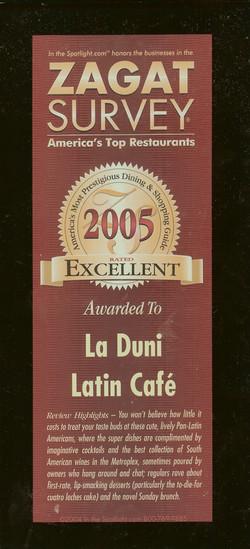 103 Zagat 2005