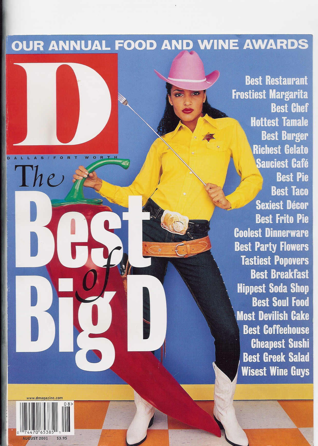 11 D Best of D 2001 Cover