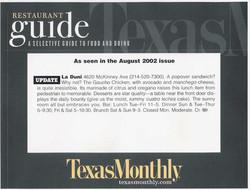 19 TM August 2002 Fx