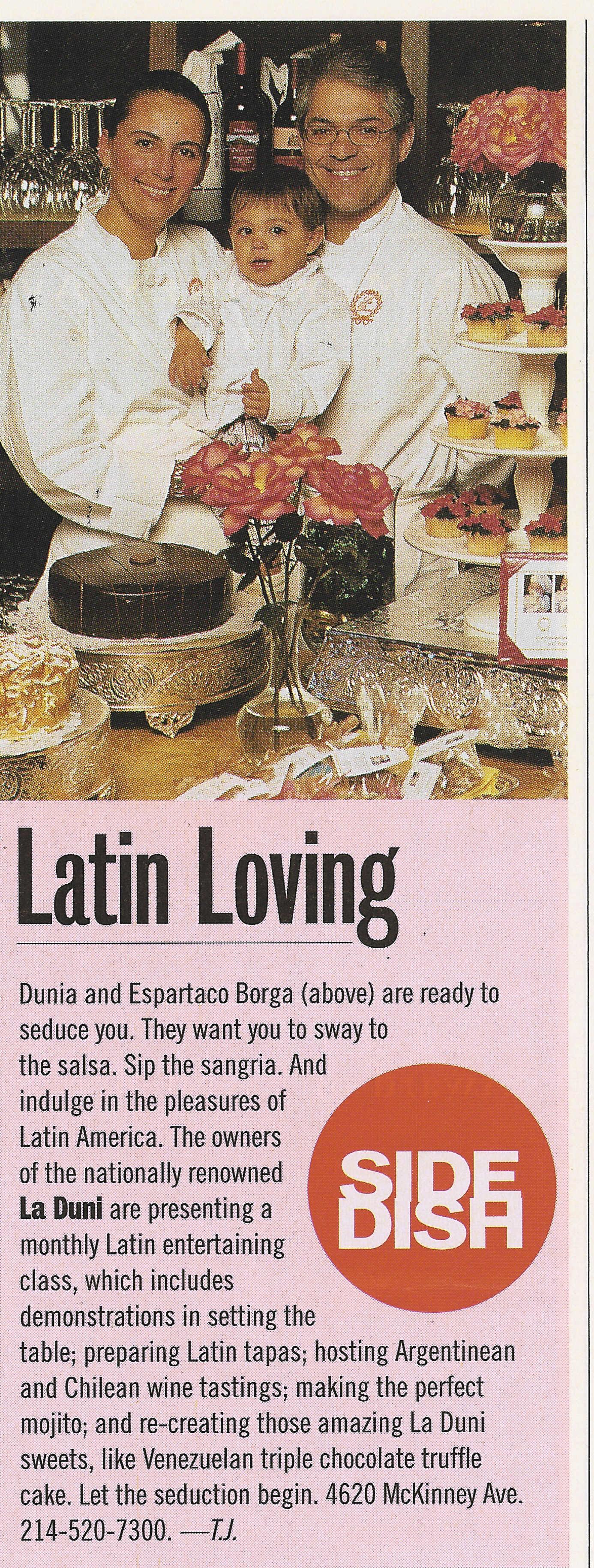 40 D Latin Loving Class