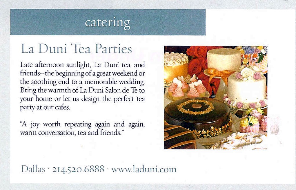 99 D Mag Weddings tea Aug 05