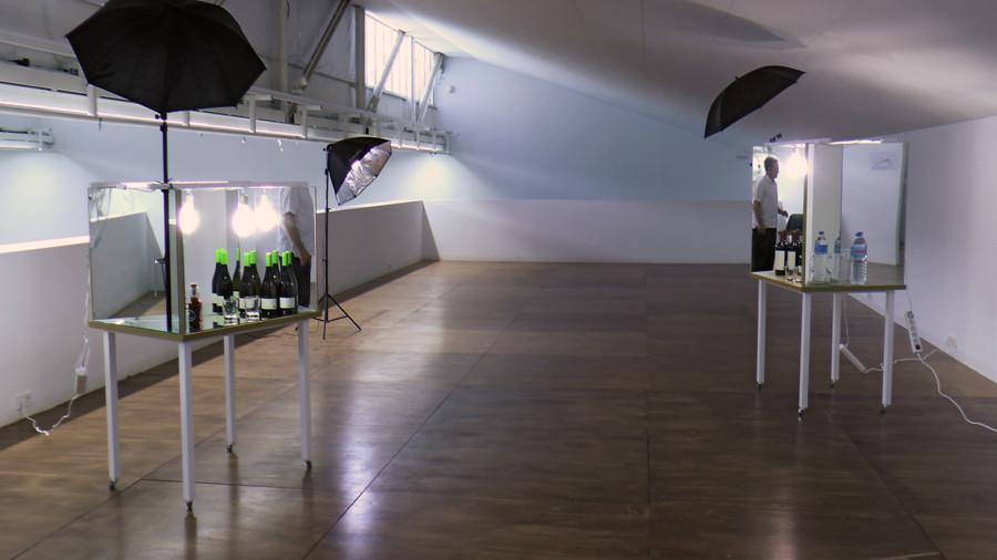 FRENTE AL RÍO, obra / instalación,  Jose María Sicilia y El Instante.   Fotografía de Ágata Sánchez Duarte - El Instante Fundación 4