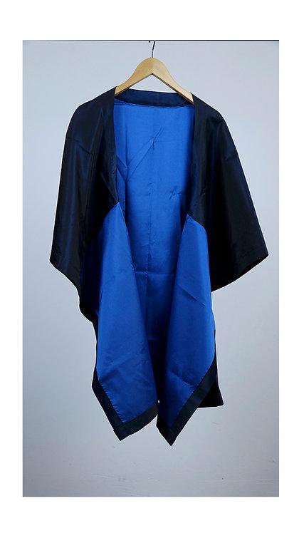 Aori algodón azul y negra