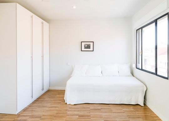 Otra vista del dormitorio en 3ª y 4ª pla