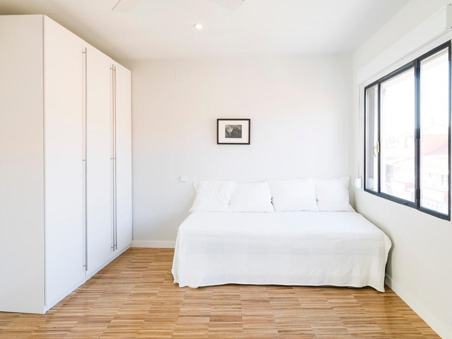 Camerino, vista dormitorio apartamentos 3ª y 4ª planta.